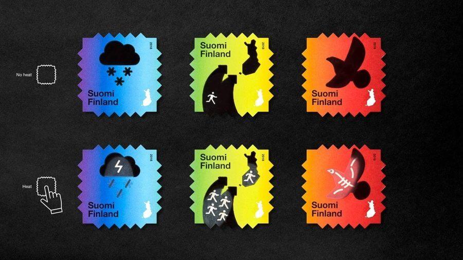 sellos postales de colección