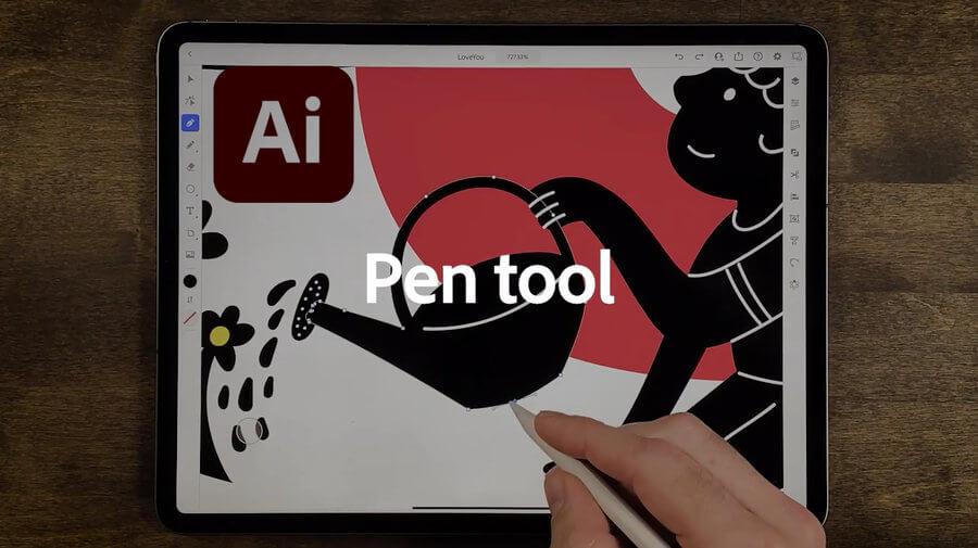 app de Illustrator para iPad