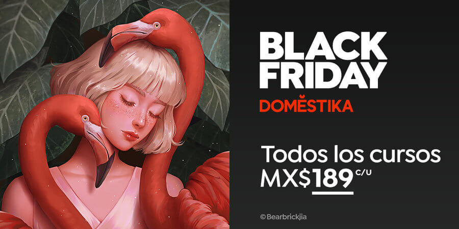black friday en Domestika