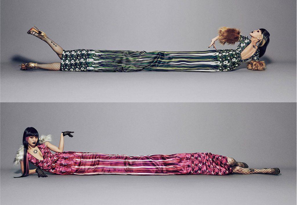 Yuni Yoshida vestidos irreales