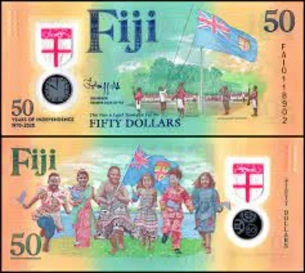 billete de Fiji