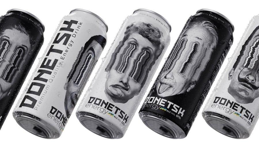 etiquetas bebidas energéticas
