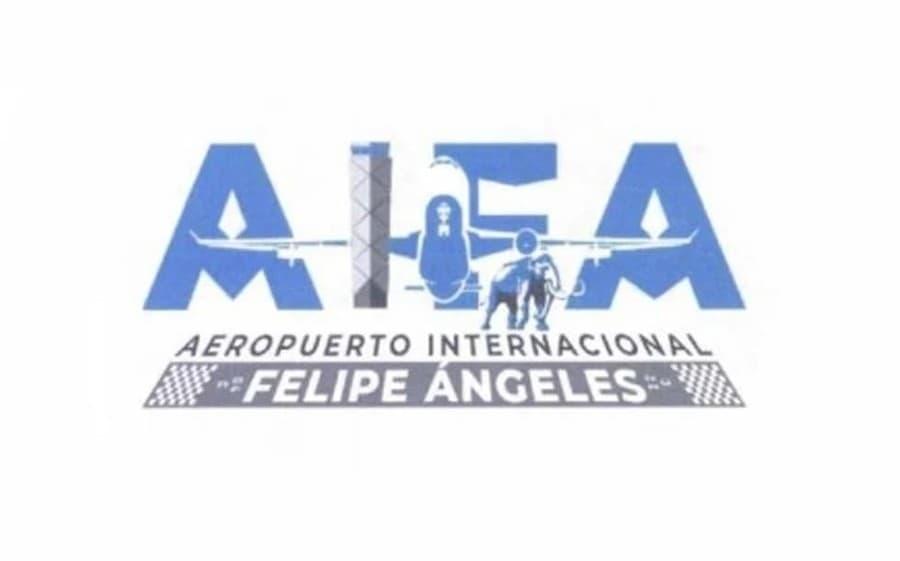 logotipo del Aeropuerto Internacional Felipe Ángeles