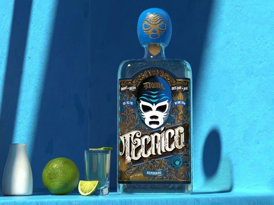 etiquetas para tequila