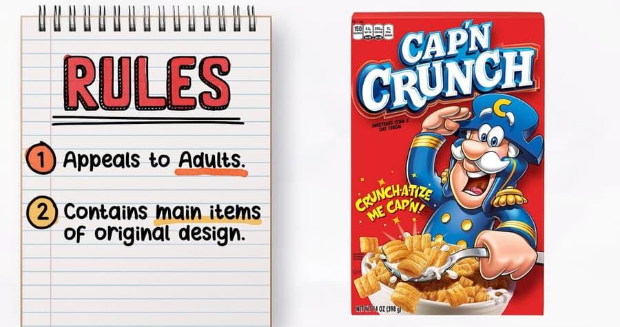 rediseño caja de cereal