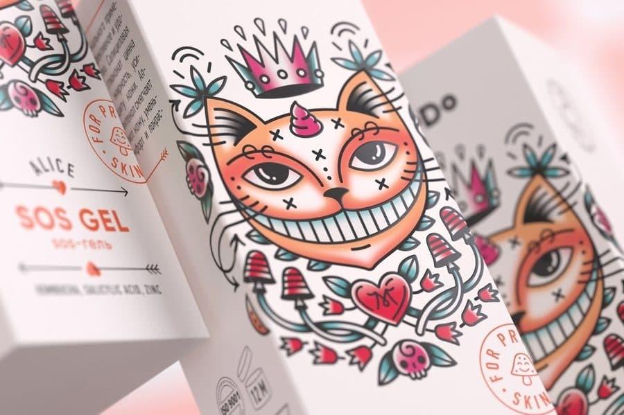 Dibujos con estilo de tatuajes
