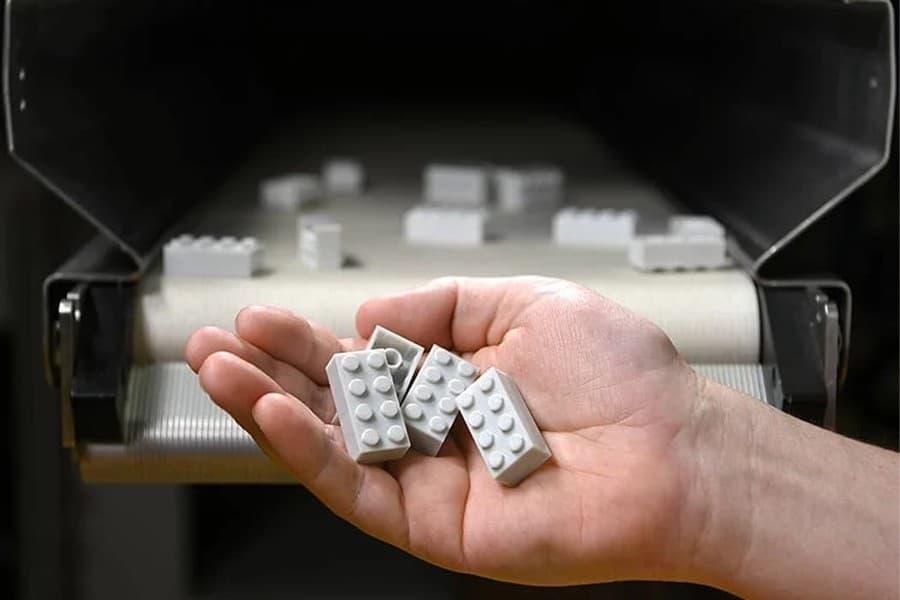 ladrillos LEGO reciclados