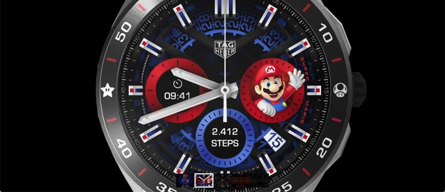 reloj Super Mario