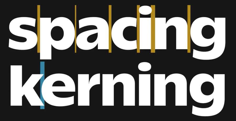 calcular el Kerning y Tracking