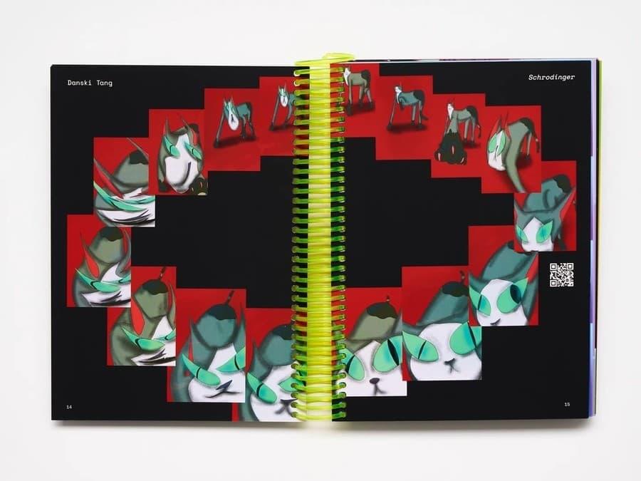 libro impreso con gifs