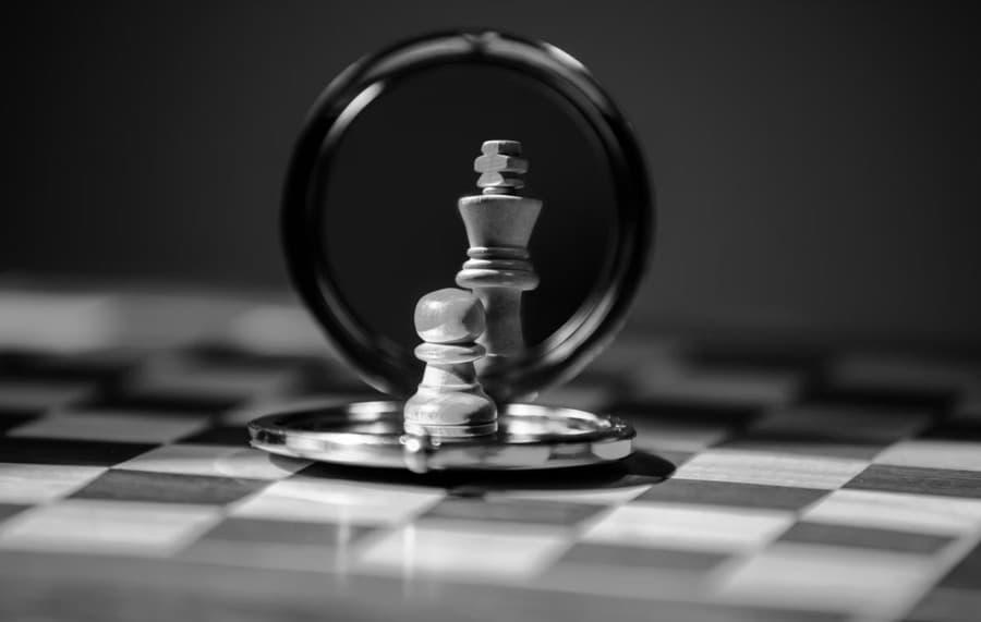 ajedrez minimalista