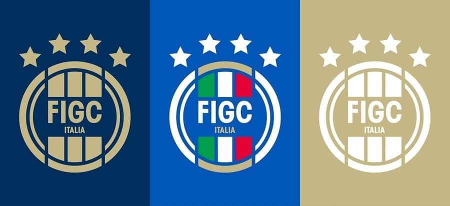logo federación Italiana de fútbol