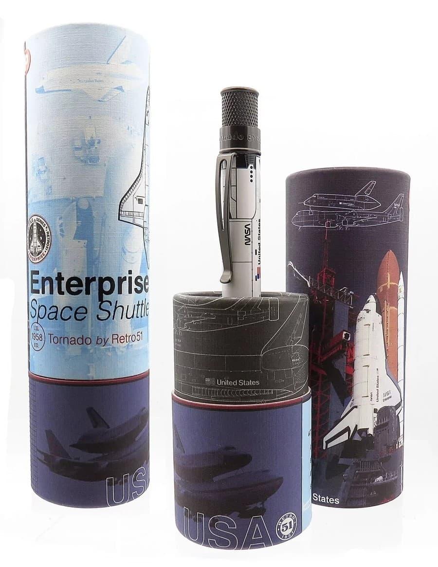pluma Transbordador espacial Enterprise